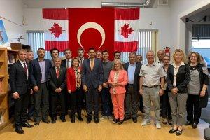 YTB Başkanı Eren Kanada'da Türk ve Müslüman Kuruluşları Ziyaret Etti
