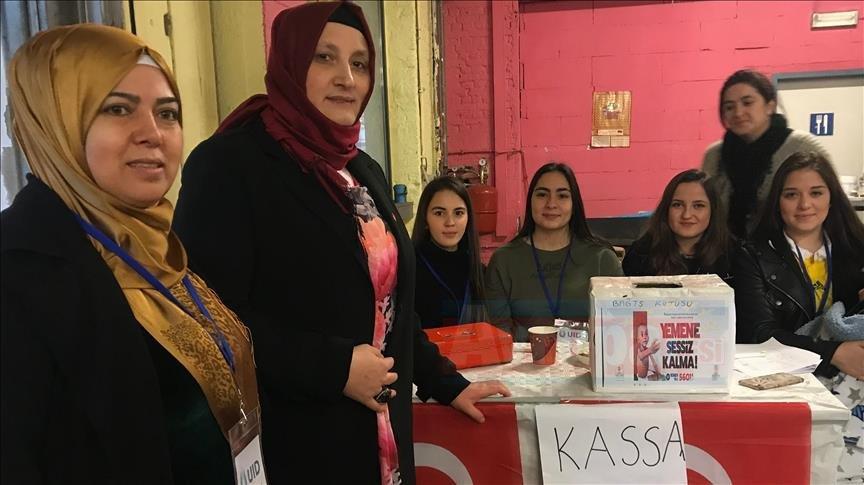Belçika'daki Türk kadınlardan Yemen'e yardım kampanyası
