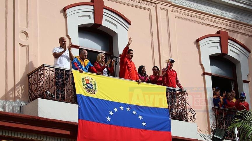 Venezuela lideri Maduro ABD ile tüm ilişkileri kestiklerini duyurdu
