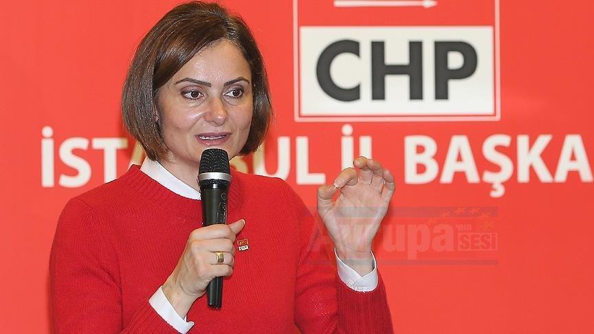 CHP İstanbul İl Başkanı Kaftancıoğlu istifa etti