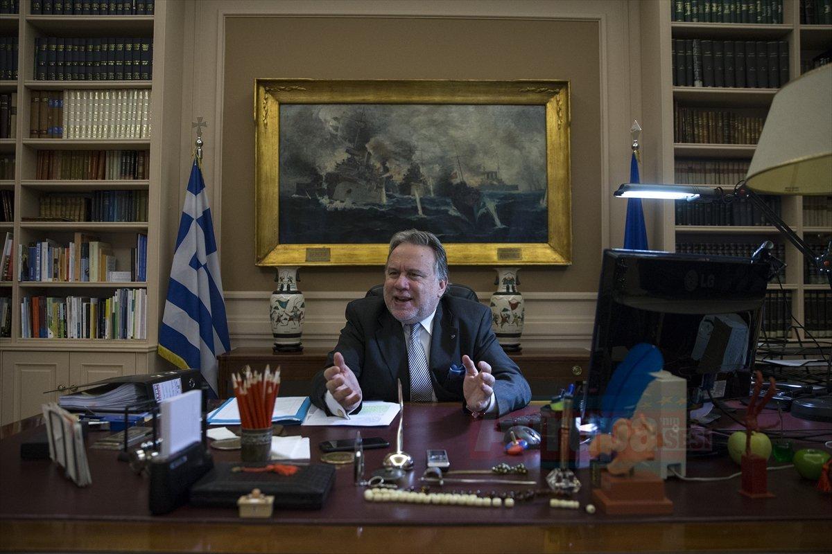Yunanistan Dışişleri Bakanı Katrugalos konuştu