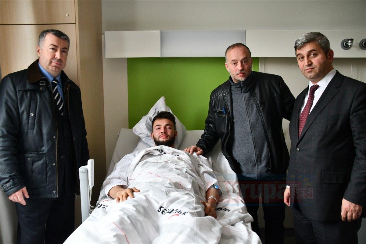 Berlin'de Türk genci 3 kişiyi kurtardı