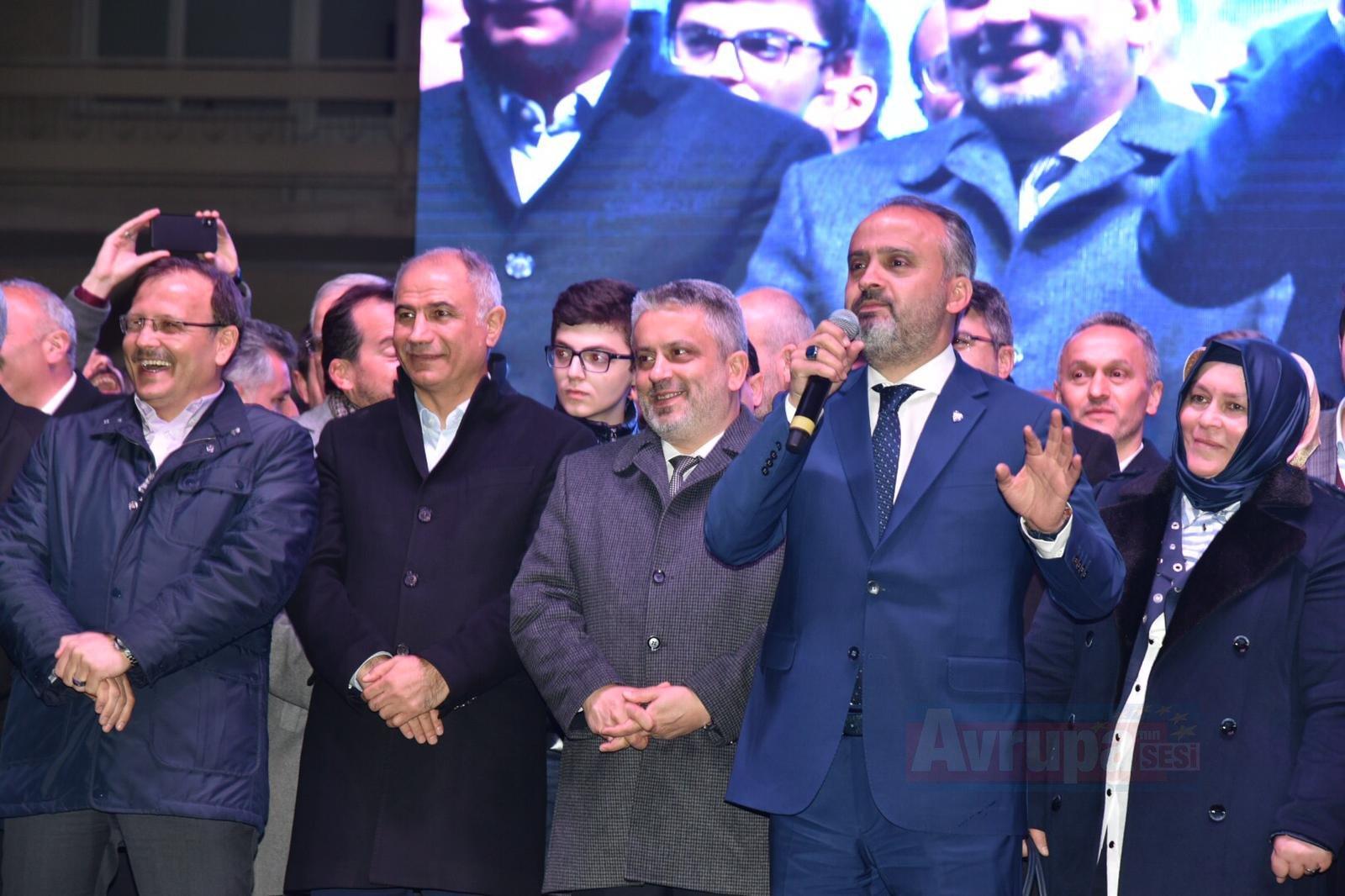 Bursa Büyükşehir Belediye Başkanlığını AK Parti'li adayı Alinur Aktaş kazandı