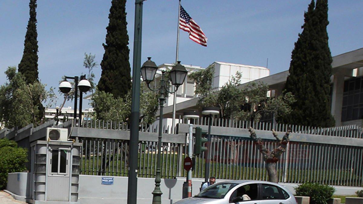 Yunanistan'da FETÖ bağlantılı kişi ABD Büyükelçiliğine izinsiz girdi