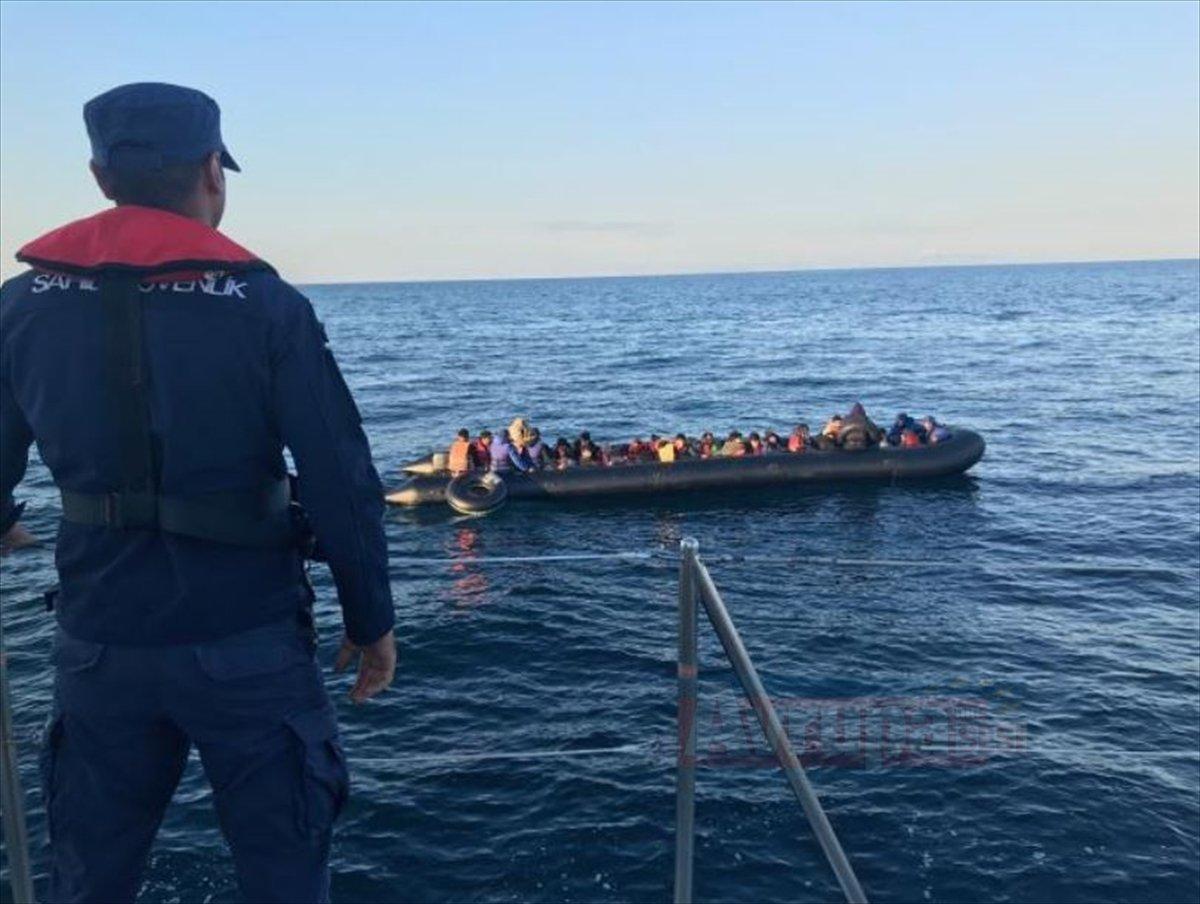 Yunanistan'a kaçmak üzere 36 düzensiz göçmen yakalandı