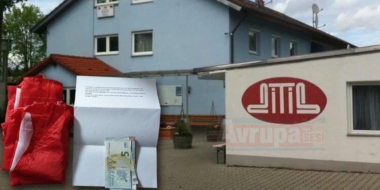 Özür dileyip 100 euro bağış yaptılar