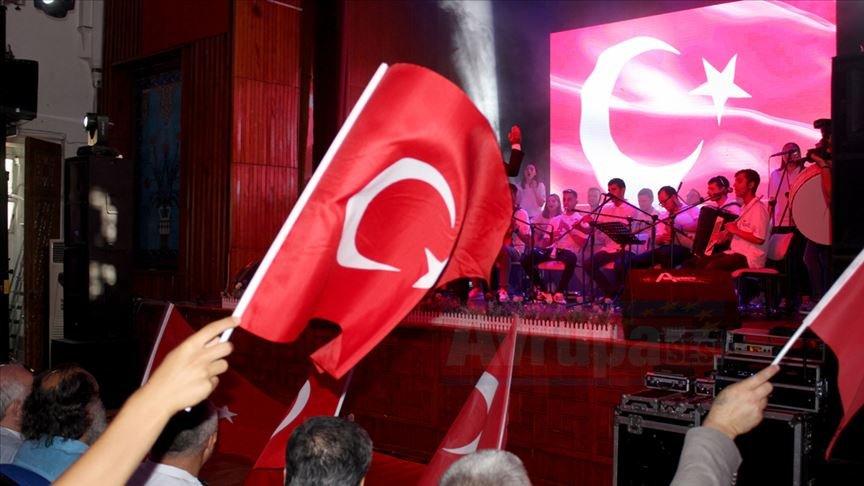 Balkanlı öğrencilerin 'Rumeli Orkestrası' ilgi gördü
