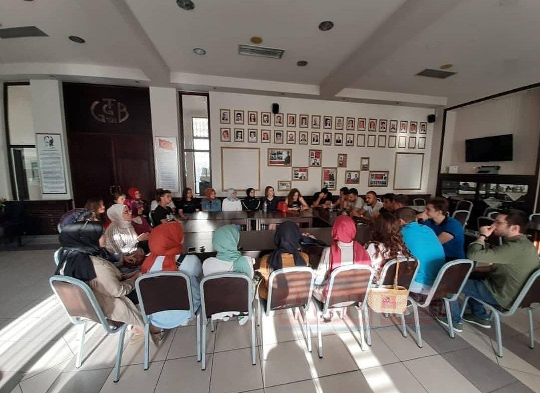 BATÖB üyeleri öğrencilere tecrübelerini aktardı