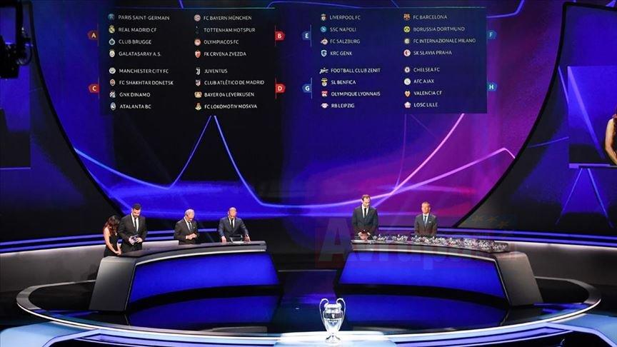 UEFA Şampiyonlar Ligi'nde Galatasaray'ın rakipleri belli oldu