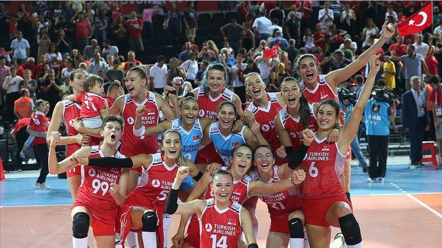 A Milli Kadın Voleybol Takımı çeyrek finale yükseldi