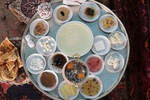 UNESCO listesine Van kahvaltı sofrası atağı