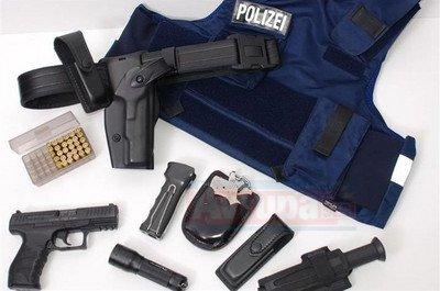 Almanya'da 11 federal polisin silahı kayıp