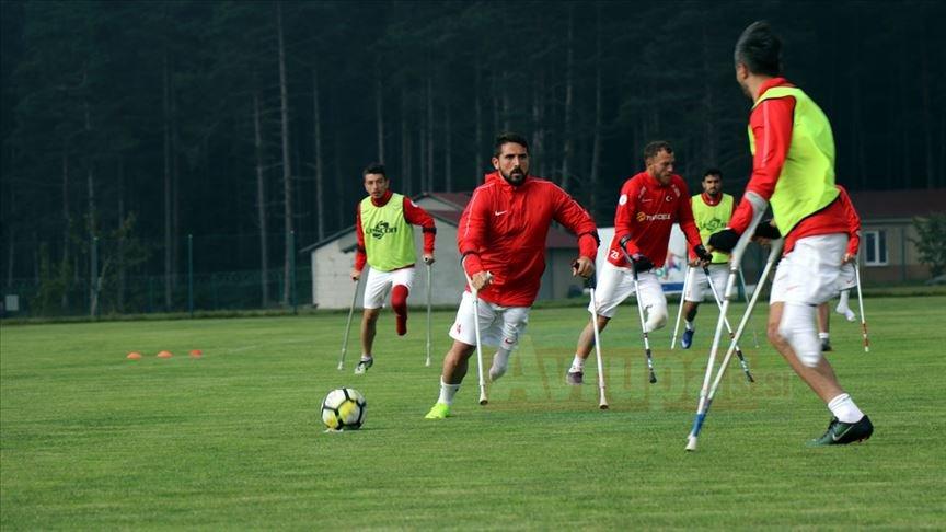 Ampute Milli Futbol Takımı'nın Avrupa Şampiyonası kampı sona erdi