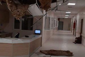 Suriye'de Türkiye sınırındaki hastaneye cumbalı saldırı