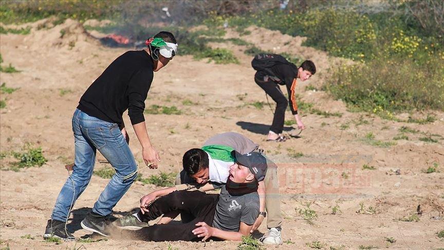 İsrail güçleri  yine Kudüs'te 46 Filistinliyi yaraladı
