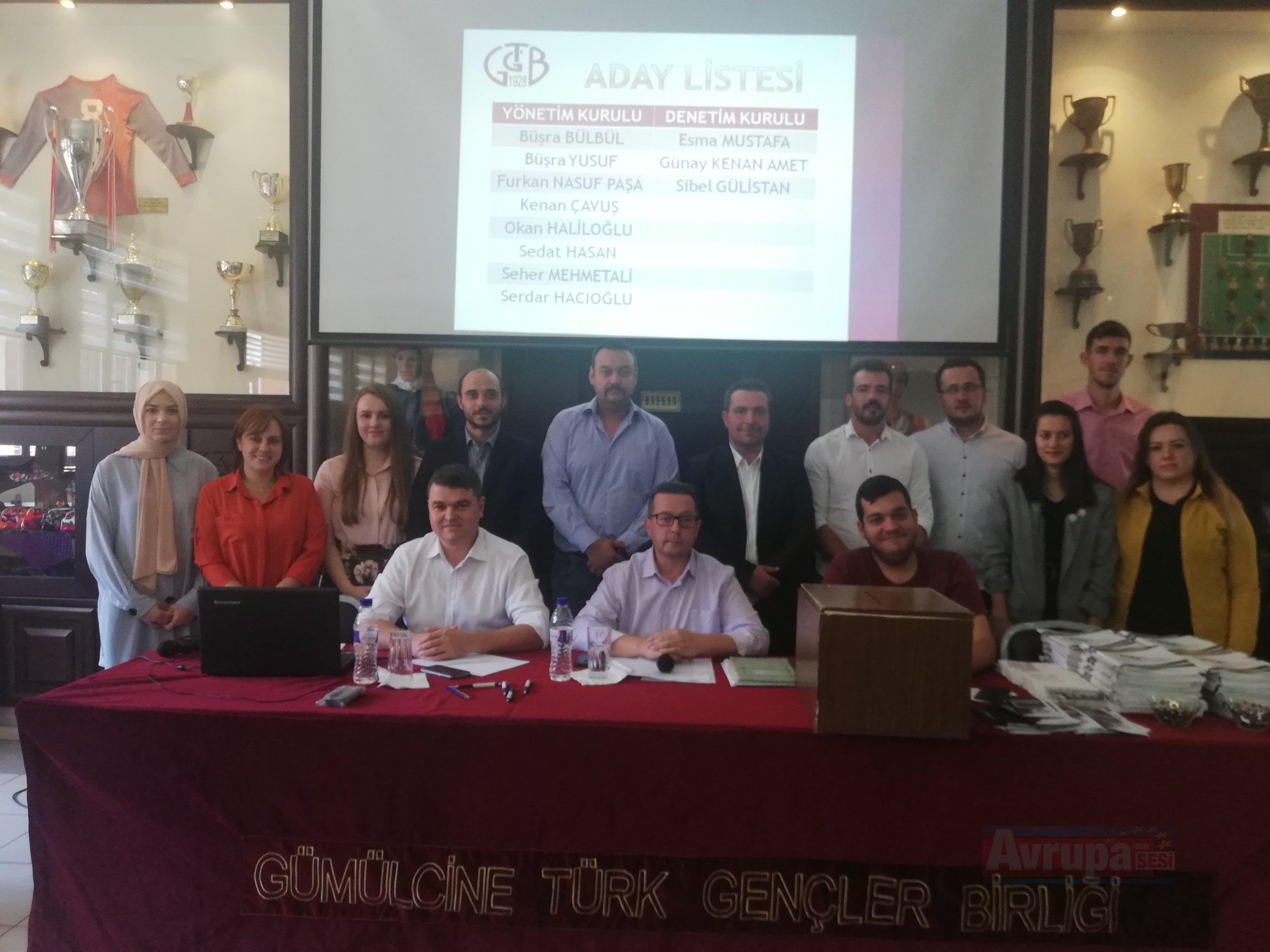 Gümülcine Türk Gençler Birliği'nin olağan kongresi gerçekleşti