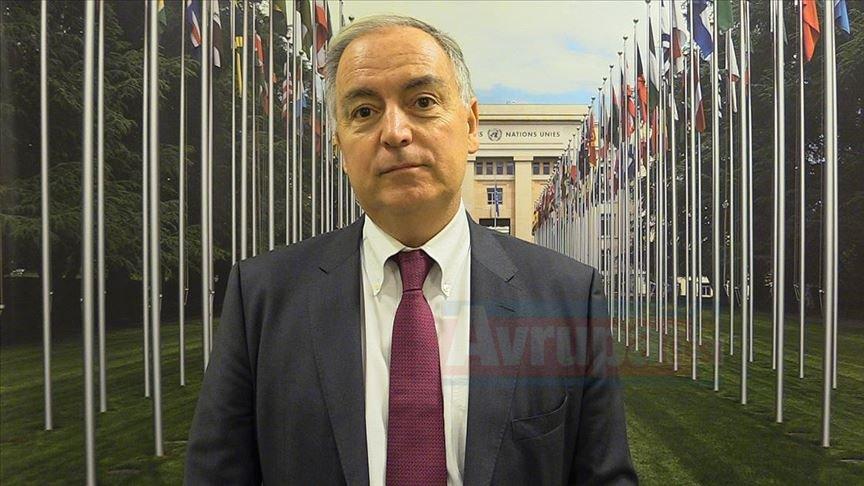 Moumtzis: Türkiye ile çok yakın koordinasyona hazırız