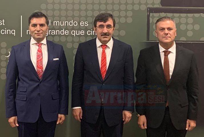 UID Genel Başkanı Bilgi, Avrupalı Türklerin sorunlarına çözüm için Ankara'da