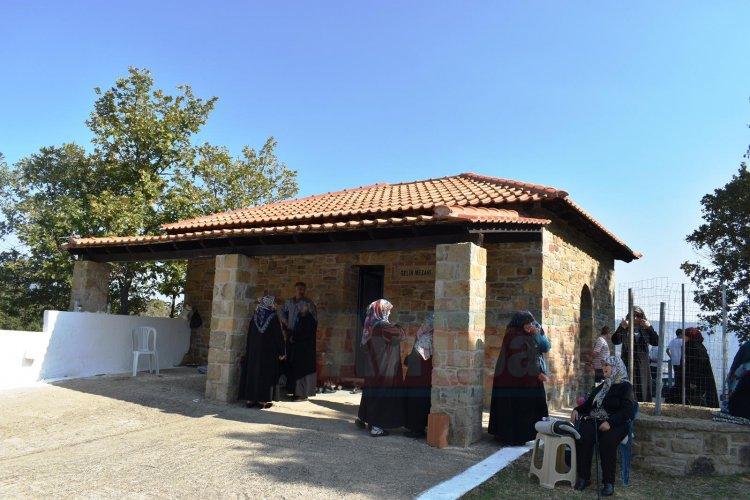 Gelin Mezarı Mahyası'na katılım yoğundu