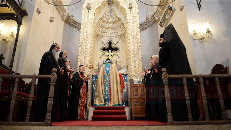 Azınlık cemaatleri Barış Pınarı Harekatı' nda görev alan askerlerimize dua ettiler
