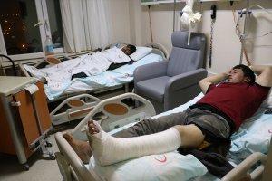 Yunanistan yaralı düzensiz göçmenleri zorla Türkiye'ye gönderiyor