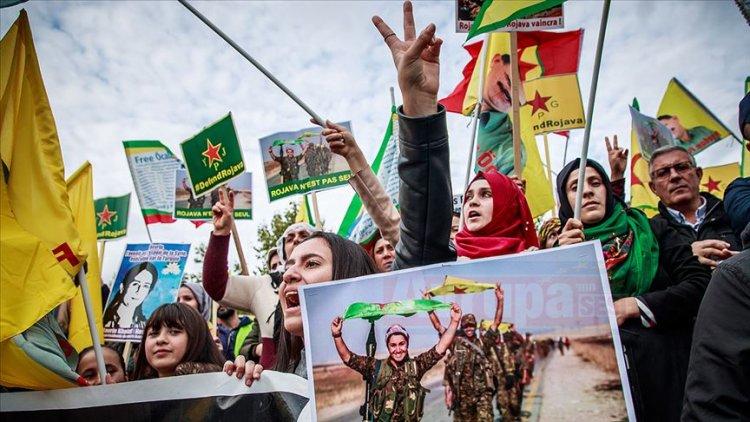 Avrupa'nın reddettiği 'YPG/PKK bağlantısı' kendi sokaklarında cirit atıyor
