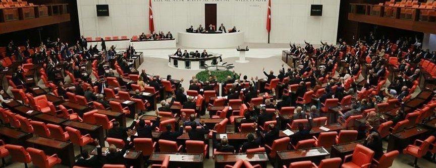 TBMM'de Lübnan tezkeresi kabul edildi