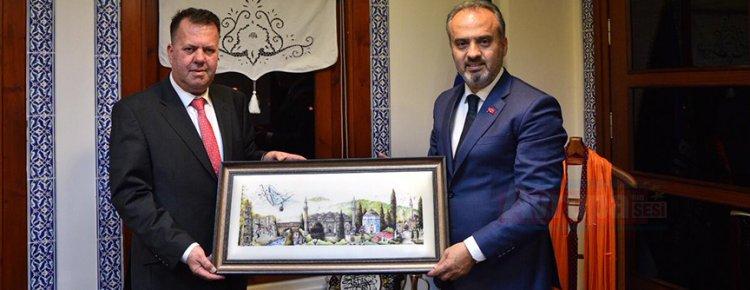 """Aktaş, """"Bütün projelerimizin amacı Bursa'yı marka ve yaşanabilir bir şehir yapmak"""""""