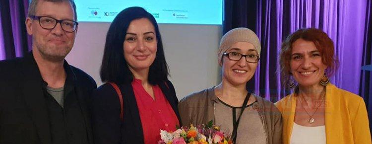Almanya'da Halime Kula'ya 'Migradonna' ödülü