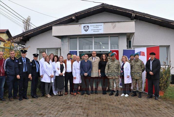 Kosova'daki Aile Sağlık Merkezine tıbbi malzeme yardımı