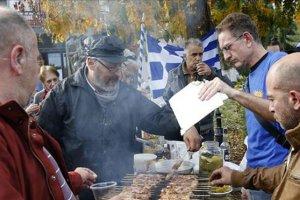 Yunanistan'da düzensiz göçmenlere