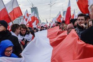 Polonya'nın bağımsızlığının 101. yıl dönümü kutlandı