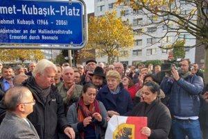 Almanya'da NSU kurbanı Mehmet Kubaşık'ın ismi meydana verildi