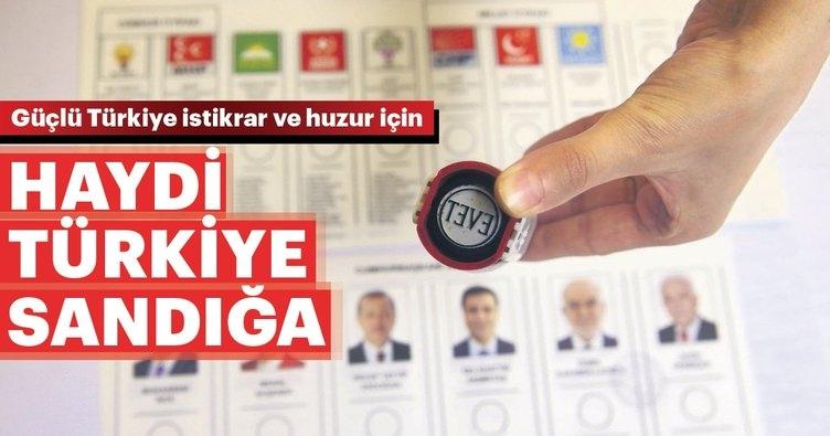 Haydi Türkiye sandığa