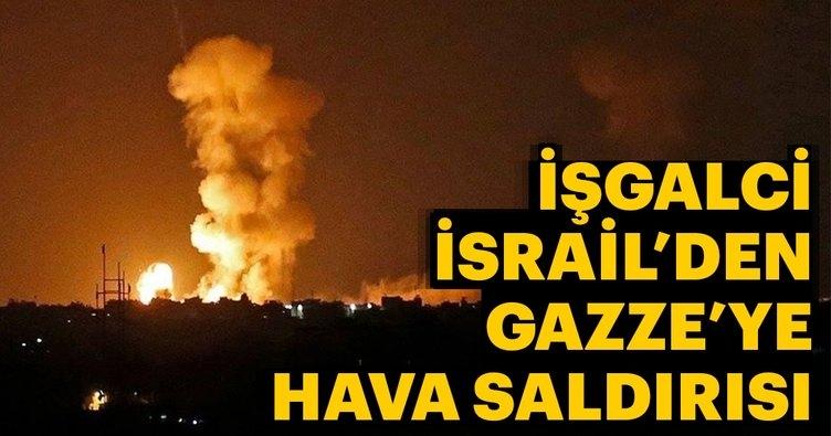 İşgalci İsrail Gazze şeridini bombalamaya başladı